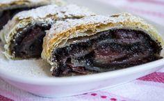 Strudel, Sweet Desserts, Macaroons, Hamburger, Sweet Tooth, Vegan Recipes, Goodies, Food And Drink, Pie