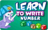 Learn to Write Numbers is a unique and interactive math lesson in which kids learn how to write numbers by following the dots and arrows. It helps to develop numerical ability.