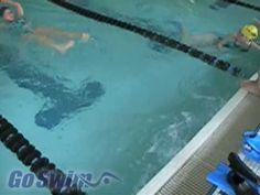 Swimming - Turns - Freestyle Flip Turn Step #2 - YouTube
