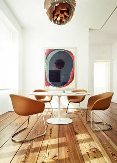 Learn how to add some color to your existing dining space...