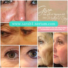 Perfect skin treatment for any & all moms!!! Happy Mothers Day!!!! www.sarab1.nerium.com