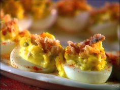 Sunnys Deviled Eggs from FoodNetwork.com