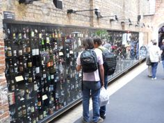 Bruges, Beer Wall!  I've been there!