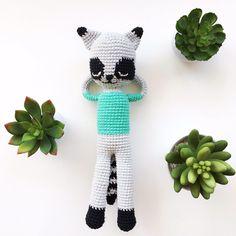 Racoon Mapache - hechos por Florencia Rodríguez para Kitsune Shop