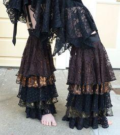 KathleenCrowleyCouture - Leg Ruffles