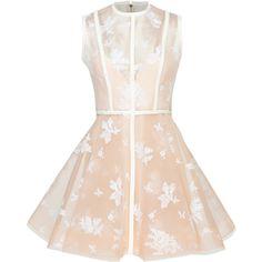 Alex Perry Arlo Mini Dress (58.785 UYU) ❤ liked on Polyvore featuring dresses, alex perry, dresses short, mini dresses, white, white lace mini skirt, short mini dress, mini dress, white a line dress and white dress