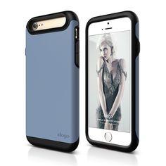 elago S6 Duro Case for iPhone 6 - Matt Black + Royal Blue