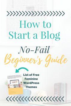 The No-Fail Beginner's Guide to Starting a WordPress Blog. Plus, Bonus Guide to FREE Feminine WordPress Themes You Can Use Right Now. Analisamos os 150 Melhores Templates WordPress e colocamos tudo neste E-Book dividido por 15 categorias e nichos de mercado. Download GRATUITO em http://www.estrategiadigital.pt/150-melhores-templates-wordpress/
