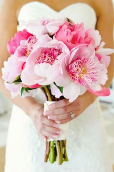 See more about wedding bouquets, pink peonies and pink bouquet.