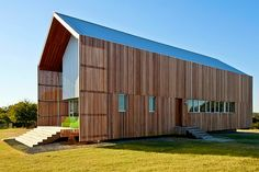 Barndominium: Green Live-Work Space is a Modern Update to the Vernacular Barn | Inhabitat - Sustainable Design Innovation, Eco Architecture, Green Building