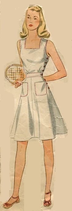 Tennis Anyone? by Janie Zekkou on Etsy