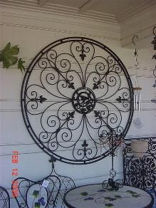 iron garden structures - & Inspired by the ornamental ironwork of the New Orleansu0027 Garden ...