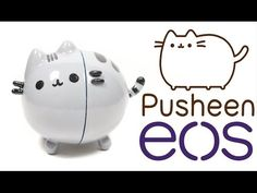DIY EOS Lip Balm: Pusheen Tutorial - YouTube
