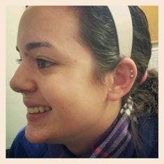 2 Cartilage Piercings