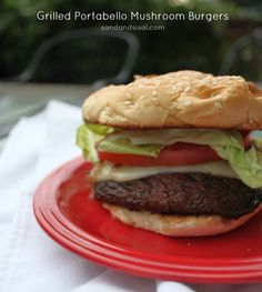 ... | Sirloin Recipes, Grilled Chicken Thighs and Mushroom Burger