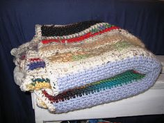 crochet leftovers blanket