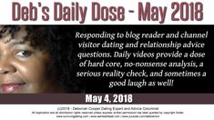 Daily Dose Dating & Relationship Advice - May 4, 2018
