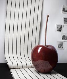 Good enough to eat, luscious ceramic cherries. Wall Sculptures, Sculpture Art, Jeff Koons, Prop Styling, Bordeaux, Oeuvre D'art, Installation Art, Design Art, Glass Art