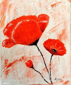 Oeuvre D'art, Etsy, Vintage, Artwork, Painting, Ideas, Tatuajes, Poppies Painting, Crochet Turtle