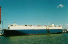 The car carrier Hyundai No 105 sank in the Singapore Straits laden with 4,000 cars after colliding with the tanker Kaminesan on 22.5.2004. There was no injuries to the crew of either vessel. The wreck was removed in 2010-12.