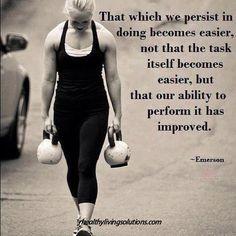 persist to improve