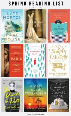 9 Books to Read this Spring