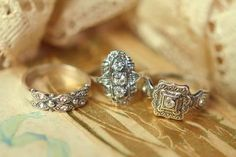 vintage Dutch engagement rings