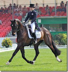 Laura Collet & Rayef leading 2011 Badminton. Beautiful horse!