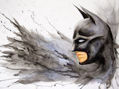 Batman Splash by AllieRaines on deviantART