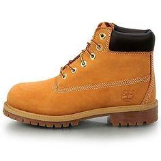 "TIMBERLAND 6"" PREMIUM PRESCHOOL 12709 Wheat Ps Little Kids Boots Youth Size 13.5"