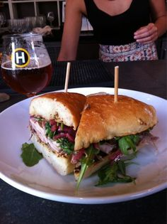 Milwaukee:  Porchetta sandwich