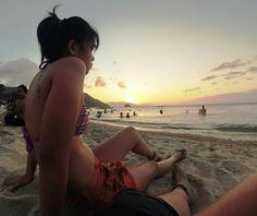 Sunset at Puerto Galera, Oriental, Mindoro