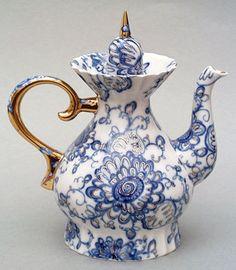 Lomonosov Porcelain Singing Garden 7 cups