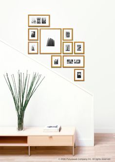 P3018-B Bamboo 1 inch Perfect Picturewall   Easy photo walls, frame clusters and a picture collage   Picturewall®