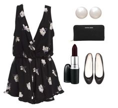 """""""Untitled #1258"""" by adi-pollak ❤ liked on Polyvore featuring beauty, Zara, MAC Cosmetics and Michael Kors"""
