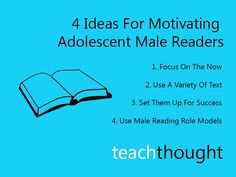 4 Ideas For Motivating Adolescent Male Readers by ASCD Emerging Leader Kenny McKee via TeachThought Reading Assessment, Reading Intervention, Reading Skills, Reading Motivation, Read 180, Teaching Profession, Education And Literacy, Reading Specialist, Writing Strategies