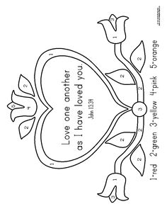 matthew 22 39 coloring pages - photo#17