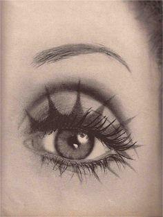 Makeup Inspo, Makeup Art, Makeup Inspiration, Beauty Makeup, Eye Makeup, Hair Makeup, Hair Beauty, Richard Avedon, Eyeliner