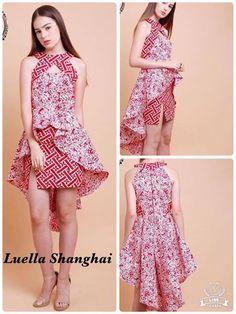 Cute Batik. Love the colour and pattern combination