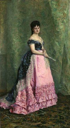 Author Madrazo y Garreta, Raimundo de (Spanish) Title Manuela de Errazu Chronology Ca. 1875 Museo Nacional del Prado: On-line gallery