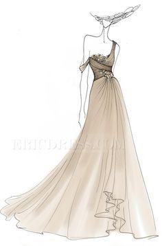 Gorgeous Front-Split One-shoulder Floor-length Sequins Evening Dress 8 Sequin Evening Dresses, Ball Dresses, Prom Dresses, Formal Dresses, Wedding Dresses, Military Ball, Dresses For Sale, Designer Dresses, One Shoulder