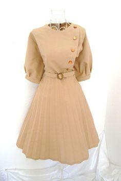 Vintage 50s style day dress