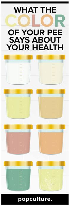 The key to knowing how much water to drink may be located in the last place you'd think to look: the toilet bowl.  Find out what the color of your pee says about your health. Popculture.com