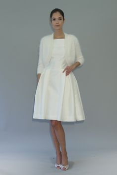 carolina herrera wedding dress fall 2012 bridal gowns 1