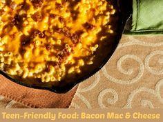 Teen-Friendly Food: Bacon Macaroni & Cheese