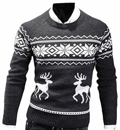 Product review for ONTBYB Mens Fashion Fit Christmas Print Long Sleeve Pullovers Sweater.  Purchasing Notes: 1.Please allow little color difference due to different camera or light environment. 2.2-3cm error of measuring is a reasonable range due to different measurement methods. 3.If you have any question, please contact us! Welcome to YangYangDeYi Store. Package:Other accessories...