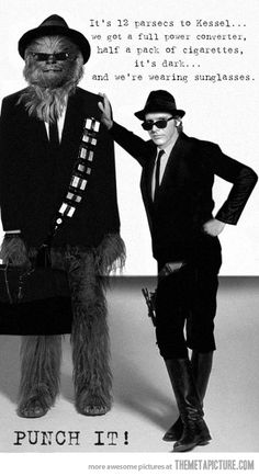Galactic Blues Brothers…