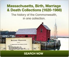 Where else can you find more than 12.8 million birth, marriage and death records for 315 of the 351 towns and cities in Massachusetts, covering more than 400 years of history? Have you got #Massachusetts ancestors in your family tree? Check out this excellent #genealogy resource today!