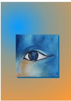 Dieses Bild ist für die dritte Kunstraubaktion entstanden. Als Vorlage diente die Büste der Nofretete. Da ihr linkes Auge nicht angelegt ist, kam ...