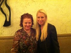 Louise Sattler and Britt Michaelian, both  co-founders and experts 411 VOICES AND Friends of Ricki!